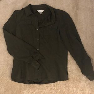 Christopher & Banks Long Sleeve Button Down